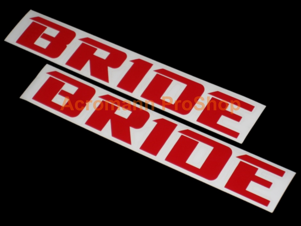 BRIDE 6inch Decal (Style#5) x 2 pcs